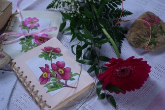 Motiv planých růží I.