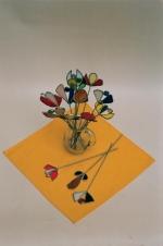 Vitráže - květiny